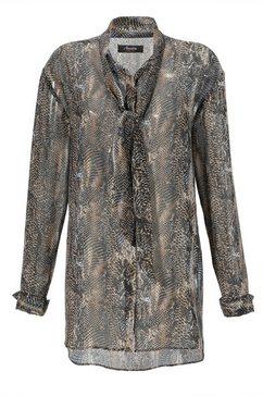 aniston casual lange blouse zwart