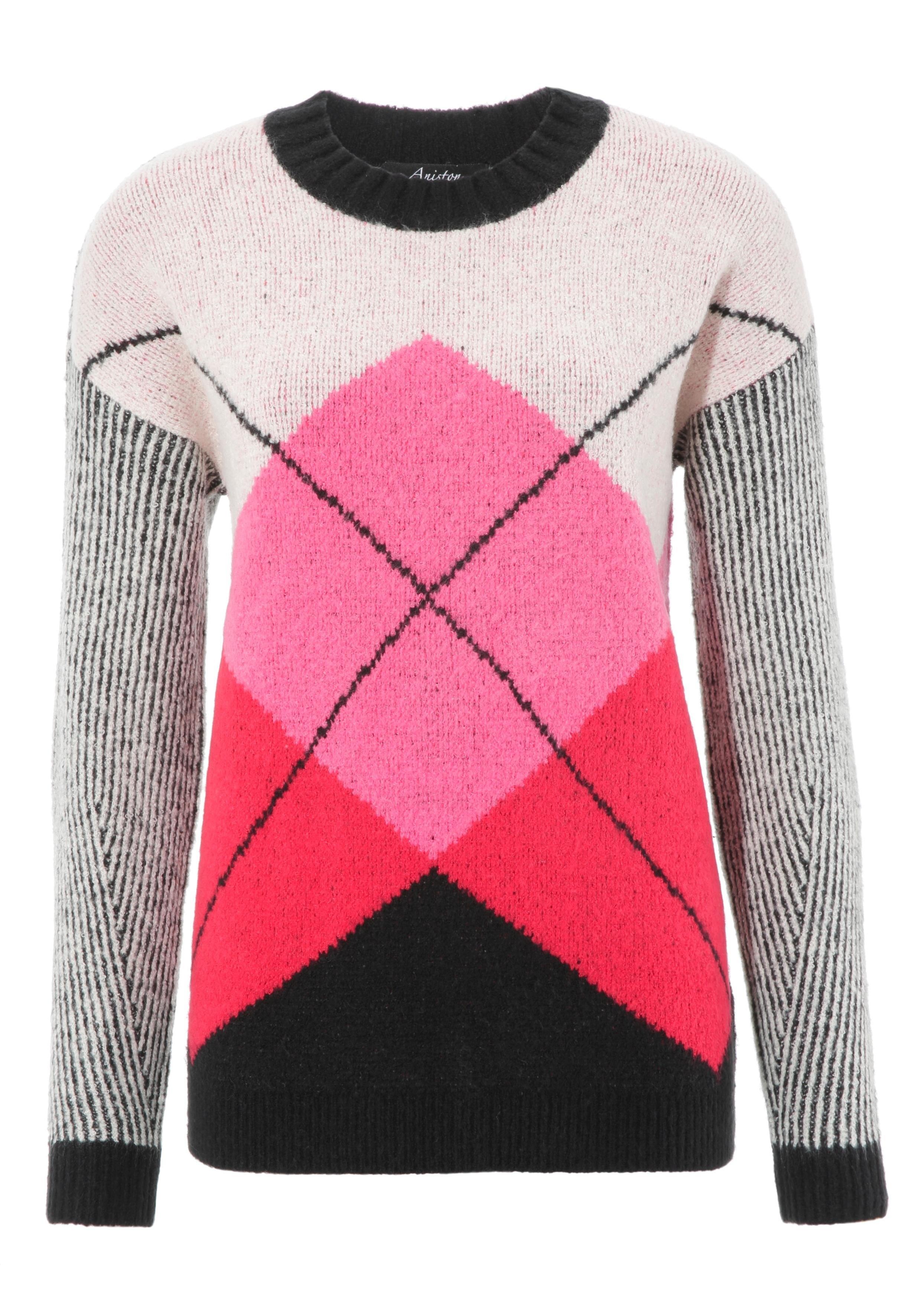 Aniston CASUAL trui met ronde hals bestellen: 30 dagen bedenktijd