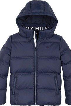 tommy hilfiger donsjack »essential down jacket« blauw