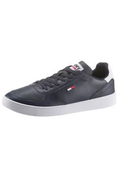 tommy jeans sneakers »tommy jeans essential cupsole« blauw