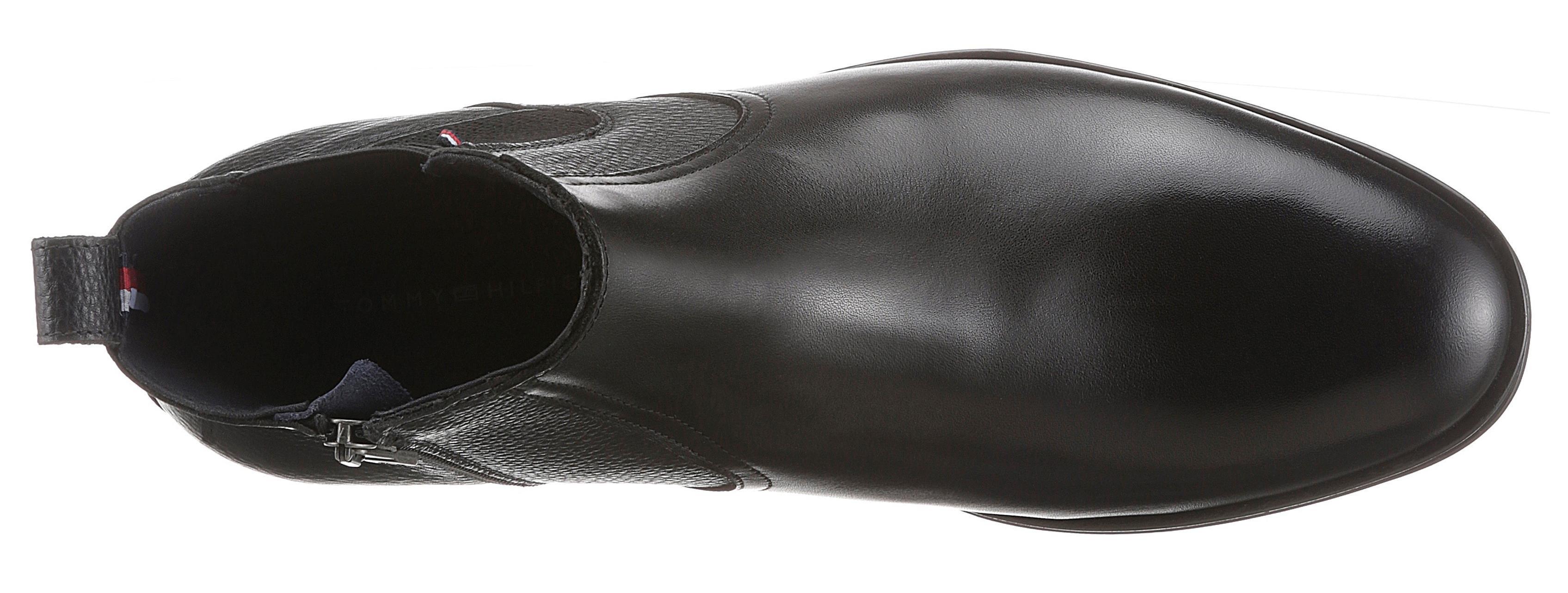 TOMMY HILFIGER Chelsea-boots »CASUAL LEATHER MIX CHELSEA« nu online bestellen