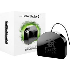 fibaro »roller shutter 3« smart-home-bedieningselement zwart