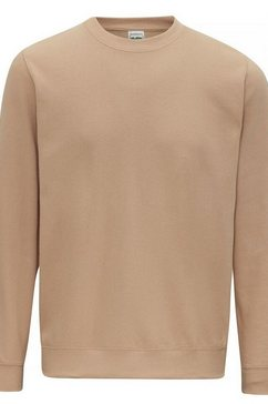 awdis trui met ronde hals »just hoods unisex sweatshirt mit rundhalsausschnitt« beige