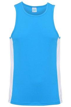 awdis tanktop »just cool herren sport top - oberteil« blauw