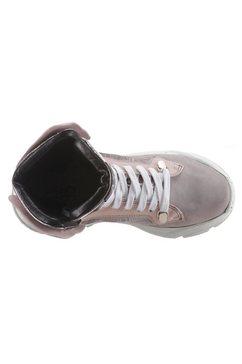 a.s.98 sneakers met sleehak »monsterlux« grijs