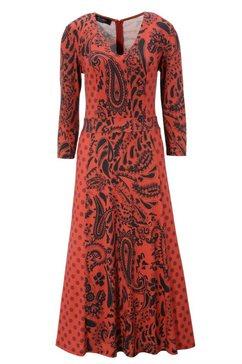 aniston selected midi-jurk rood