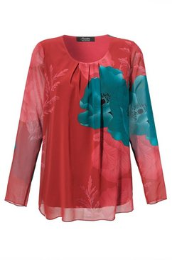 aniston selected chiffonblouse rood