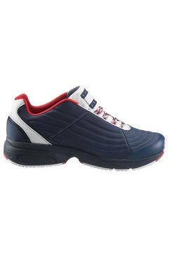 tommy jeans sneakers »heritage mix sneaker« blauw