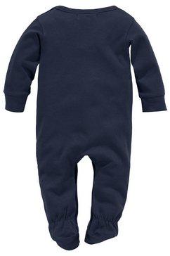 klitzeklein pyjama »schlafen wird voellig ueberbewertet« blauw