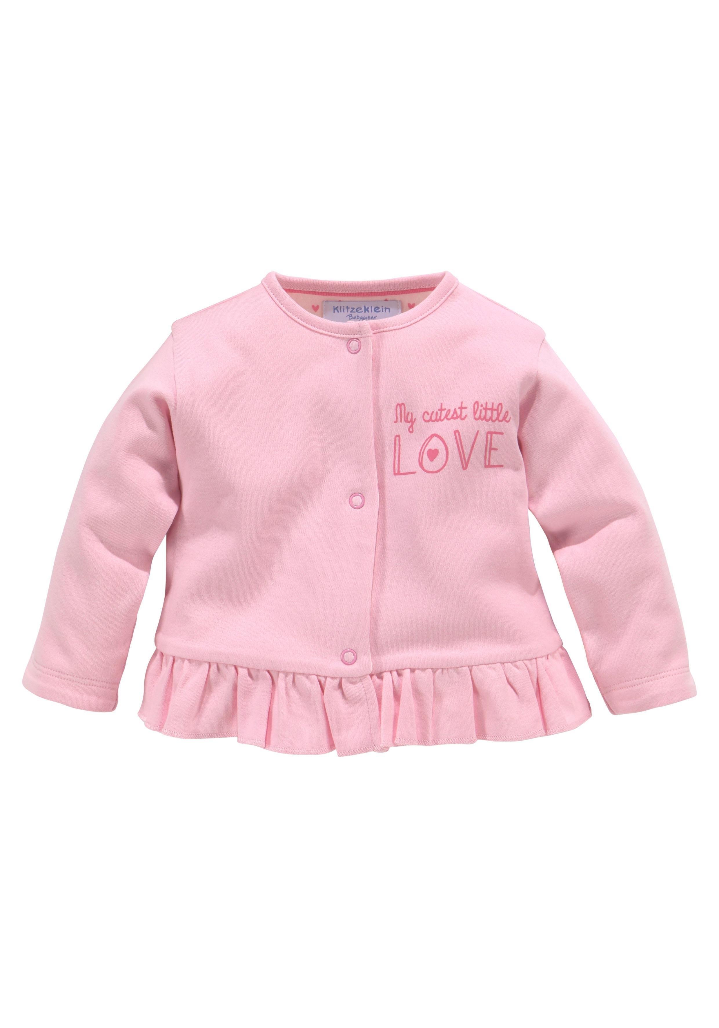 KlitzeKlein boxpakje, jasje & muts »Cute Babygirl« bestellen: 30 dagen bedenktijd