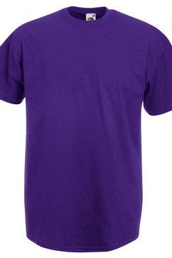 fruit of the loom t-shirt »herren kurzarm« paars