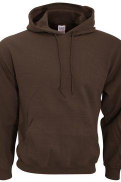 gildan capuchontrui »heavy blend unisex - hoodie - kapuzensweater« bruin