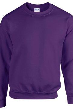 gildan trui met ronde hals »heavy blend unisex sweatshirt mit rundhalsausschnitt« paars