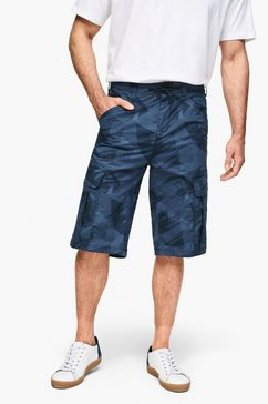 s.oliver scube relaxed: denim bermuda multicolor