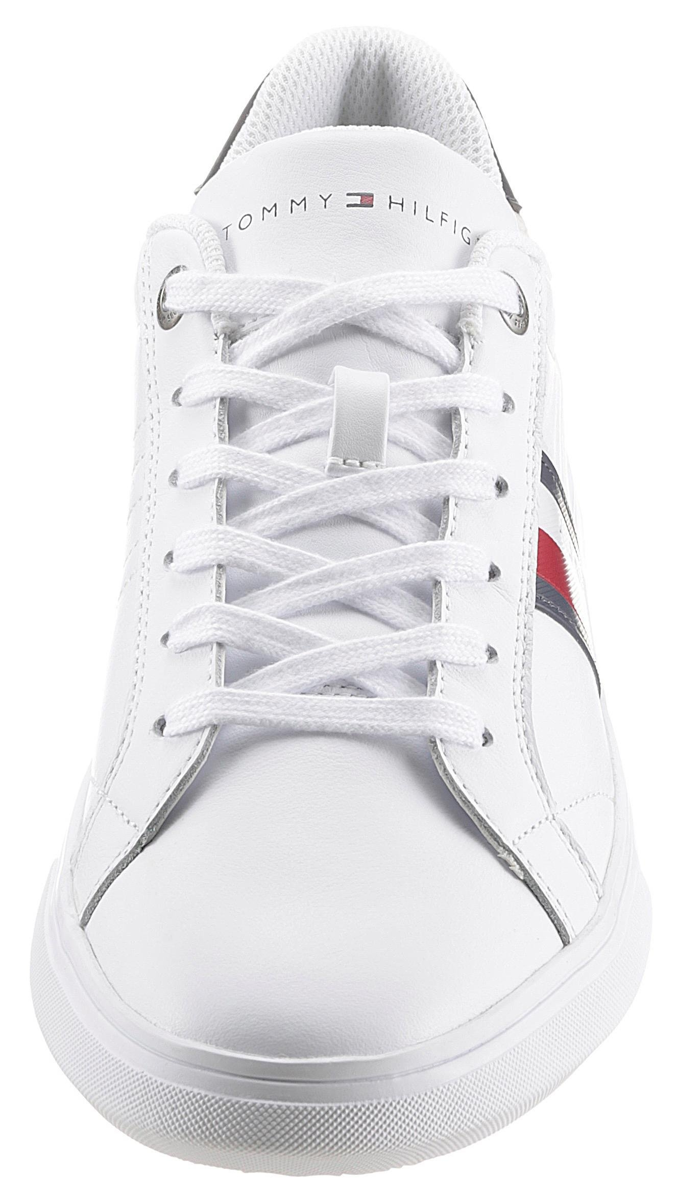TOMMY HILFIGER sneakers »ESSENTIAL LEATHER CUPSOLE« - gratis ruilen op otto.nl