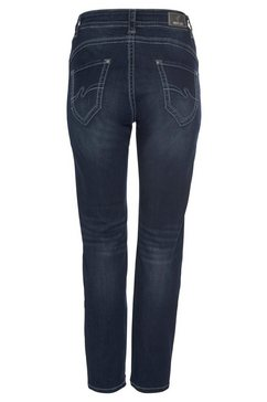 purple lily slim fit jeans »lily« blauw