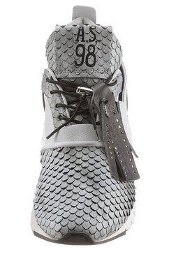 a.s.98 sneakers met sleehak »denastar« wit