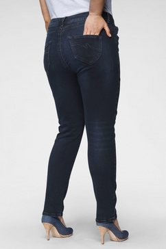purple lily skinny fit jeans blauw