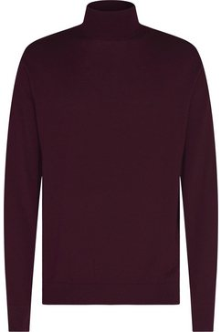 calvin klein coltrui »superior wool mock pullover« rood