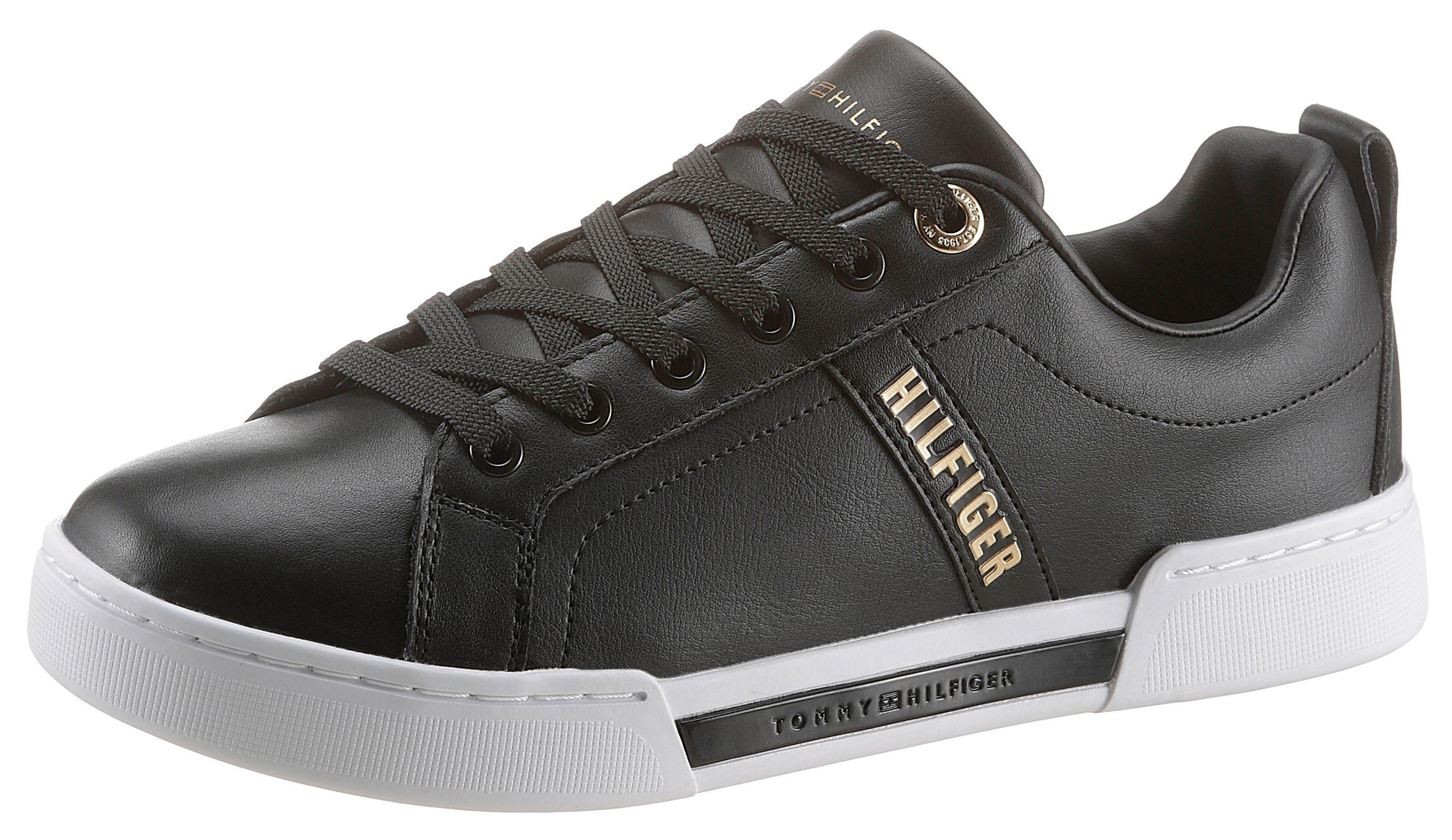 TOMMY HILFIGER sneakers »BRANDED OUTSOLE STRAPPY SNEAKER« goedkoop op otto.nl kopen