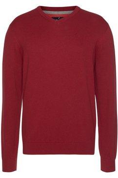 daniel hechter trui met v-hals rood