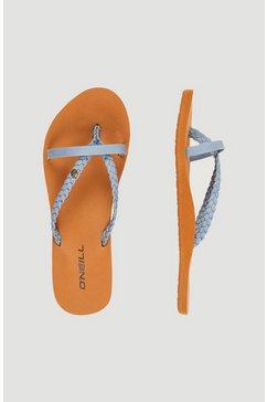 o'neill teenslippers »ditsy elite sandalen« blauw