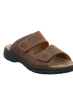 jomos slippers »mobila« bruin