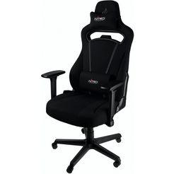 nitro concepts »e250« gamingstoel zwart