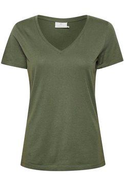 kaffe t-shirt »kabea t-shirt« groen