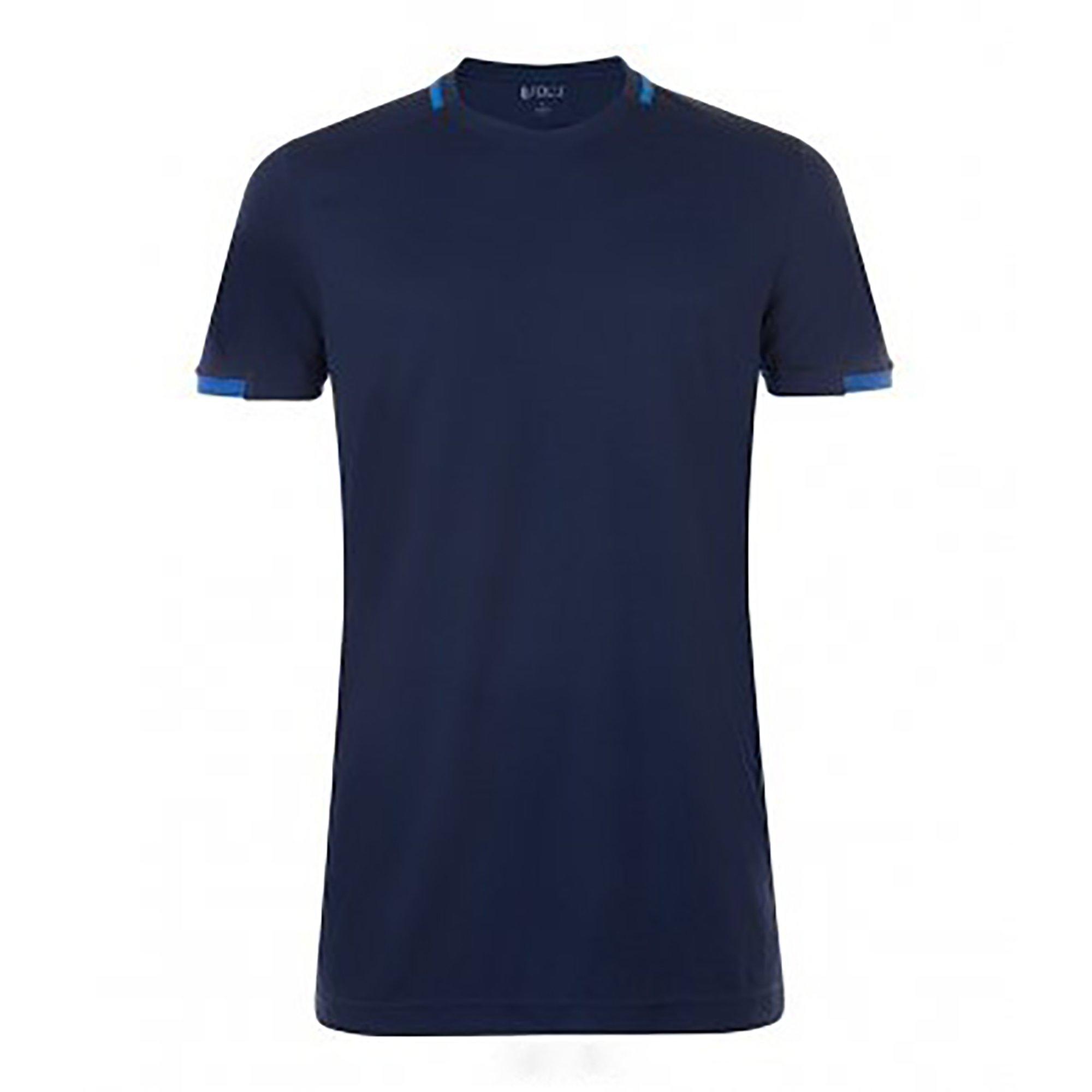 Sols T-shirt »Herren Classico Kontrast Kurzarm Fußball« - gratis ruilen op otto.nl