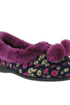 mirak pantoffels »damen bayeux klassische e« multicolor