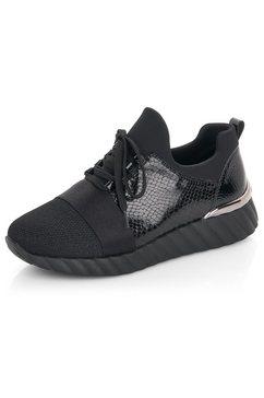 remonte slip-on sneakers zwart