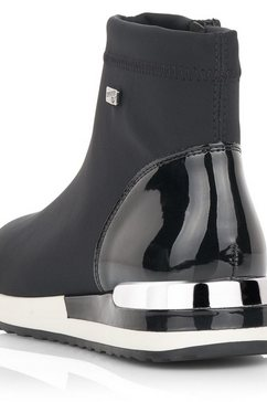remonte boots zonder sluiting zwart