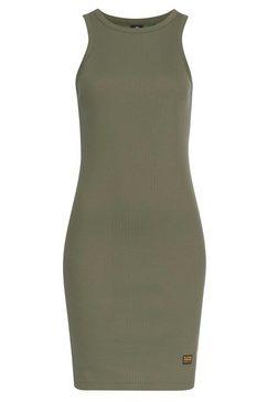g-star raw jerseyjurk »tank dress slim r« groen