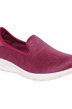 regatta wandelschoenen »damen slip-on-sneaker lady marine« rood