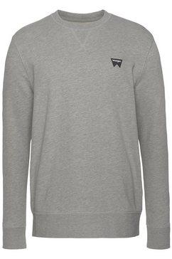 wrangler sweatshirt grijs