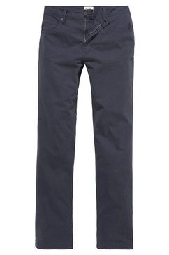 mustang stretchbroek »washington« blauw