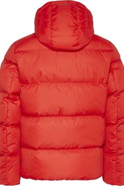 tommy jeans donsjack »tjm essential down jacket« rood