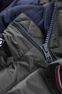 tommy jeans donsjack »tjm essential down jacket« zwart
