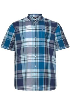 tommy hilfiger overhemd met korte mouwen »bt - madras check shirt« blauw