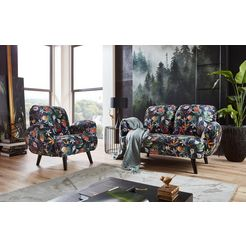 atlantic home collection 2-zitsbank multicolor