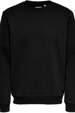 only  sons sweatshirt »ceres life crew neck sweatshirt« zwart