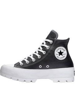converse plateausneakers »chuck taylor all star lugged hi« zwart