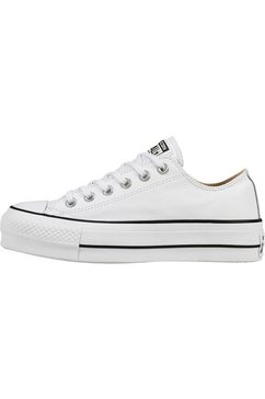converse plateausneakers »chuck taylor all star lift clean ox« wit