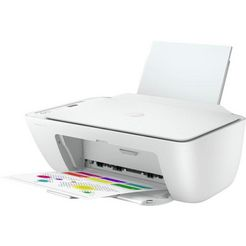 hp »deskjet 2720 all in one printer« all-in-oneprinter wit