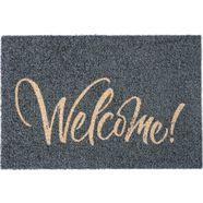my home mat »bente« grijs