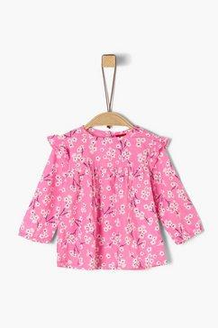 s.oliver weefstofblouse_voor baby's roze