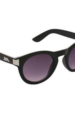 trespass zonnebril »unisex clarendon mit getoenten glaeser« zwart