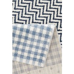 luettenhuett vloerkleed voor de kinderkamer »wilde tiere« blauw