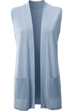 classic inspirationen mouwloos vest blauw